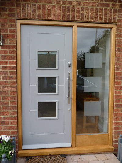 Front door design and fitting Mersea Road Colchester